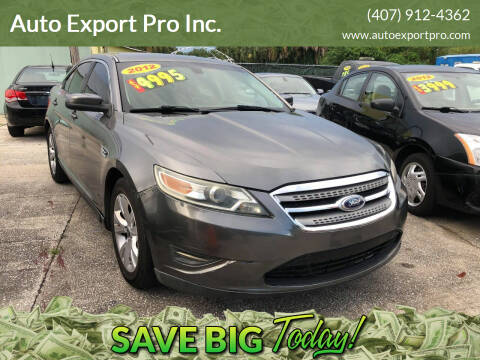 2012 Ford Taurus for sale at Auto Export Pro Inc. in Orlando FL