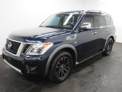 2018 Nissan Armada for sale at Automotive Connection in Fairfield OH