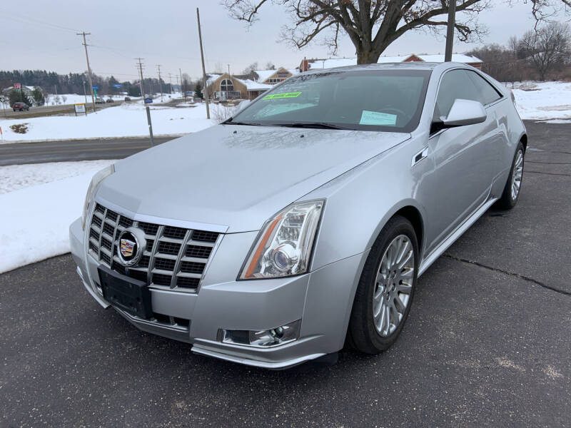2014 Cadillac CTS for sale at Blake Hollenbeck Auto Sales in Greenville MI