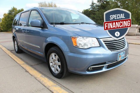 2011 Chrysler Town and Country for sale at K & L Auto Sales in Saint Paul MN