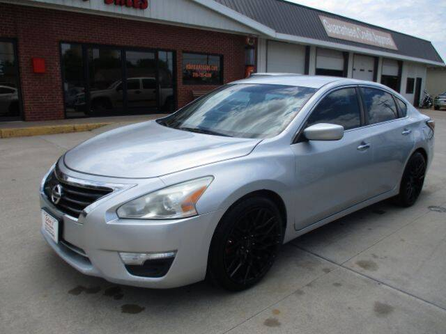 2015 Nissan Altima for sale at Eden's Auto Sales in Valley Center KS