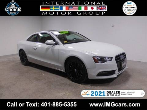 2013 Audi A5 for sale at International Motor Group in Warwick RI