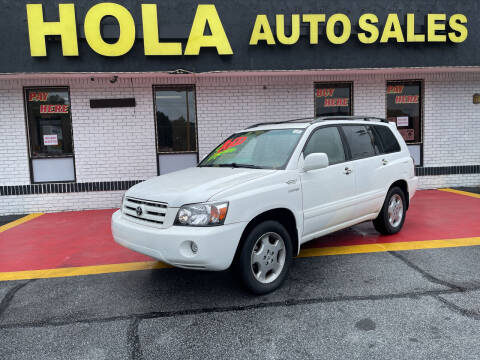 2005 Toyota Highlander for sale at HOLA AUTO SALES CHAMBLEE- BUY HERE PAY HERE - in Atlanta GA