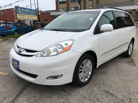 2008 Toyota Sienna for sale at 5 Stars Auto Service and Sales in Chicago IL