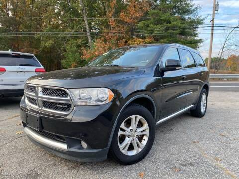 2012 Dodge Durango for sale at Royal Crest Motors in Haverhill MA