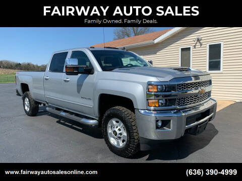 2019 Chevrolet Silverado 2500HD for sale at FAIRWAY AUTO SALES in Washington MO