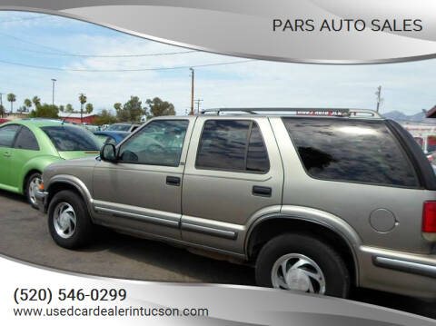 1998 Chevrolet Blazer for sale at PARS AUTO SALES in Tucson AZ