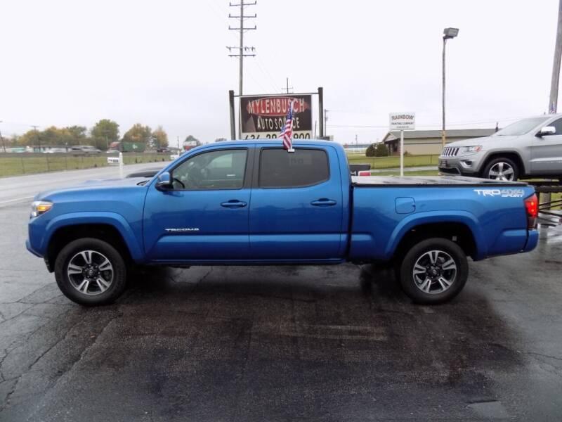 2018 Toyota Tacoma for sale at MYLENBUSCH AUTO SOURCE in O` Fallon MO