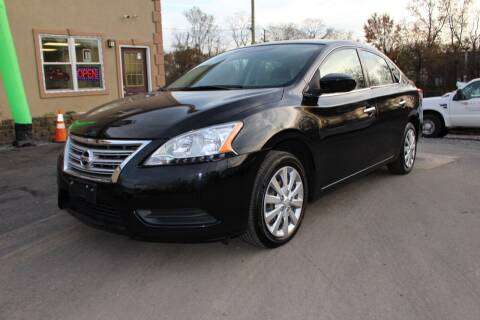 2014 Nissan Sentra for sale at Euro 1 Wholesale in Fords NJ