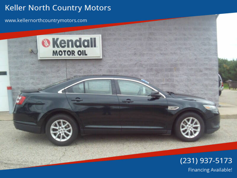 2014 Ford Taurus for sale at Keller North Country Motors in Howard City MI
