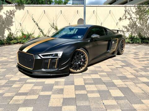 2018 Audi R8 for sale at ROGERS MOTORCARS in Houston TX