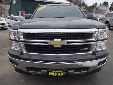 2015 Chevrolet Silverado 1500 for sale at MOUNTAIN VIEW AUTO in Lyndonville VT