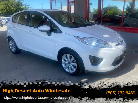 2012 Ford Fiesta for sale at High Desert Auto Wholesale in Albuquerque NM