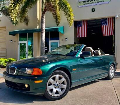 2001 BMW 3 Series for sale at AUTOSPORT MOTORS in Lake Park FL
