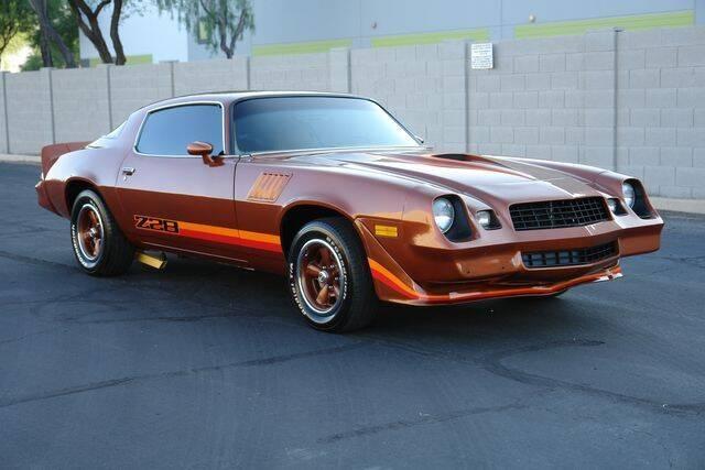1978 Chevrolet Camaro for sale at Arizona Classic Car Sales in Phoenix AZ