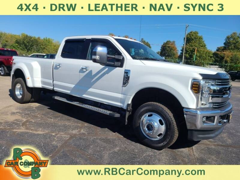 2018 Ford F-350 Super Duty for sale at R & B CAR CO - R&B CAR COMPANY in Columbia City IN