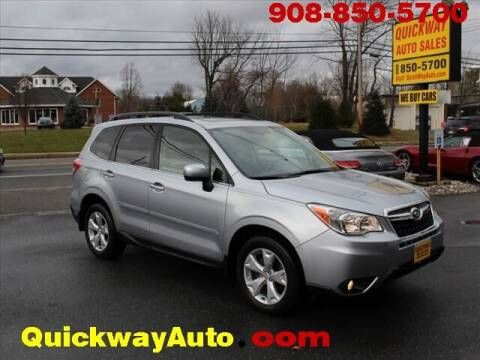 2015 Subaru Forester for sale at Quickway Auto Sales in Hackettstown NJ
