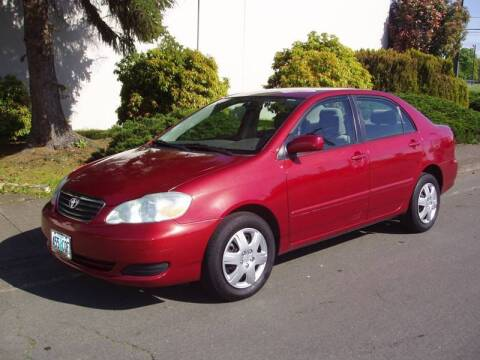 2006 Toyota Corolla for sale at K W Imports in Salem OR