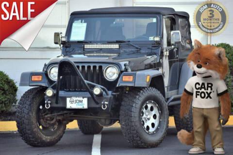 2006 Jeep Wrangler for sale at JDM Auto in Fredericksburg VA