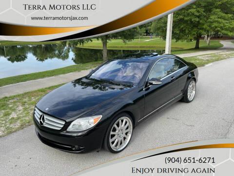 2007 Mercedes-Benz CL-Class for sale at Terra Motors LLC in Jacksonville FL