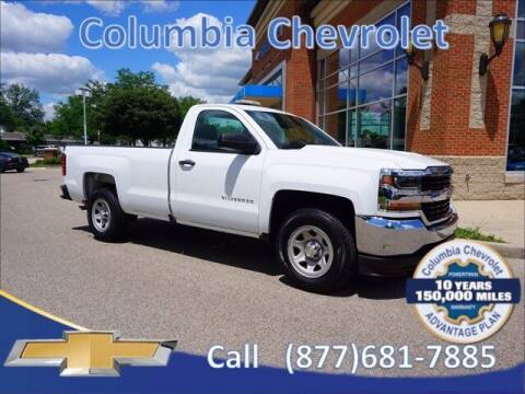 2016 Chevrolet Silverado 1500 for sale at COLUMBIA CHEVROLET in Cincinnati OH