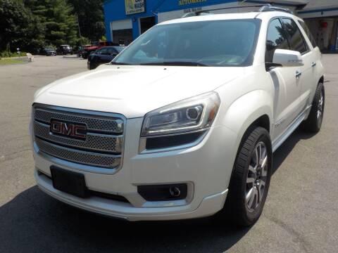 2013 GMC Acadia for sale at RTE 123 Village Auto Sales Inc. in Attleboro MA