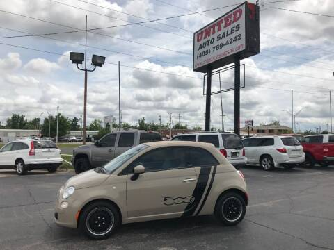 2012 FIAT 500c for sale at United Auto Sales in Oklahoma City OK