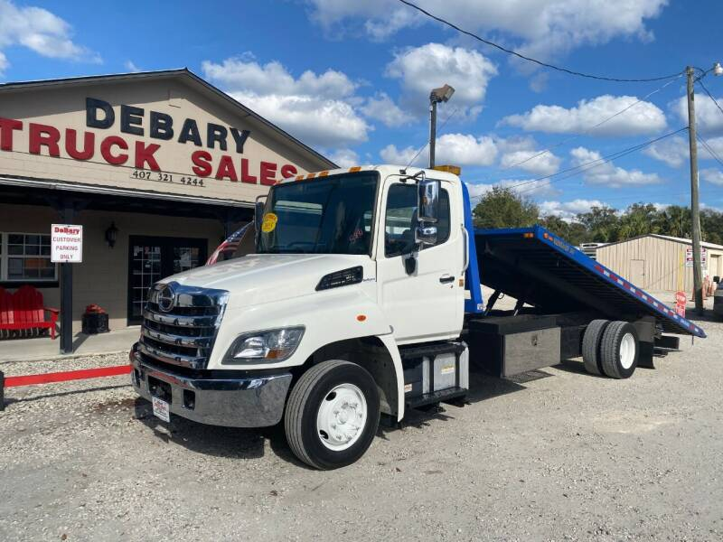 2015 Hino 268 for sale at DEBARY TRUCK SALES in Sanford FL
