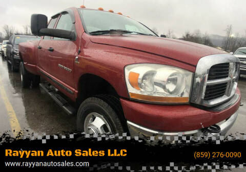 2006 Dodge Ram Pickup 3500 for sale at Rayyan Auto Sales LLC in Lexington KY