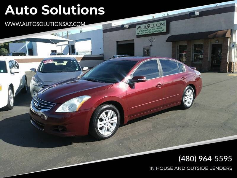 2011 Nissan Altima for sale at Auto Solutions in Mesa AZ