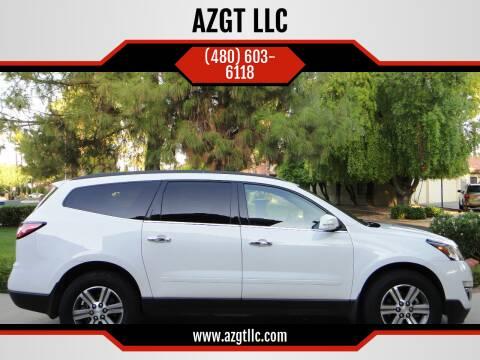 2016 Chevrolet Traverse for sale at AZGT LLC in Phoenix AZ