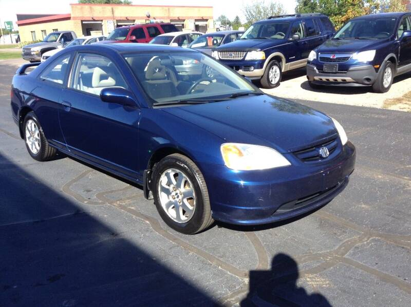 2003 Honda Civic for sale at Bruns & Sons Auto in Plover WI