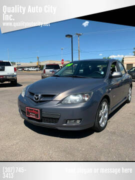 2008 Mazda MAZDA3 for sale at Quality Auto City Inc. in Laramie WY