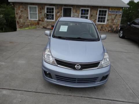 2011 Nissan Versa for sale at Flywheel Auto Sales Inc in Woodstock GA