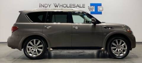 2014 Infiniti QX80 for sale at Indy Wholesale Direct in Carmel IN