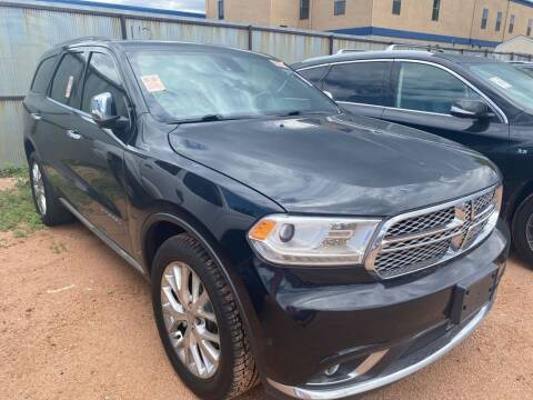 2014 Dodge Durango for sale at Street Smart Auto Brokers in Colorado Springs CO