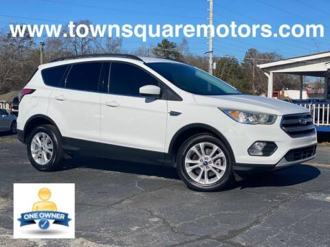 2017 Ford Escape for sale at Town Square Motors in Lawrenceville GA
