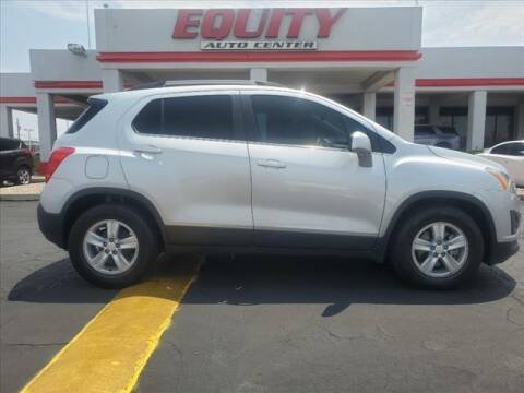 2016 Chevrolet Trax for sale at EQUITY AUTO CENTER in Phoenix AZ