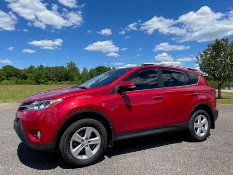 2014 Toyota RAV4 for sale at LAMB MOTORS INC in Hamilton AL