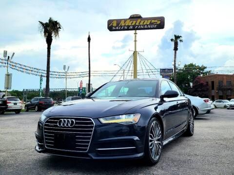 2016 Audi A6 for sale at A MOTORS SALES AND FINANCE - 10110 West Loop 1604 N in San Antonio TX