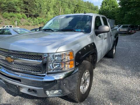 2012 Chevrolet Silverado 1500 for sale at JM Auto Sales in Shenandoah PA