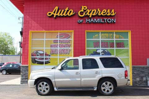 2005 Cadillac Escalade for sale at AUTO EXPRESS OF HAMILTON LLC in Hamilton OH