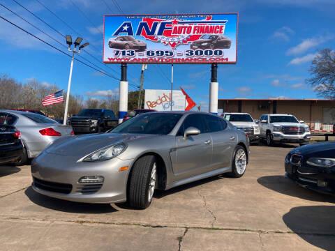 2011 Porsche Panamera for sale at ANF AUTO FINANCE in Houston TX