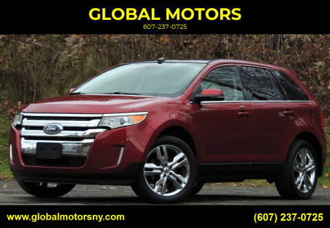 2013 Ford Edge for sale at GLOBAL MOTORS in Binghamton NY