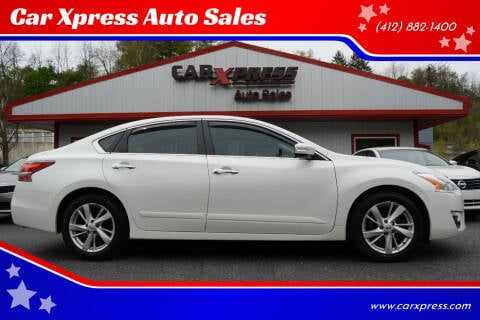 2015 Nissan Altima for sale at Car Xpress Auto Sales in Pittsburgh PA