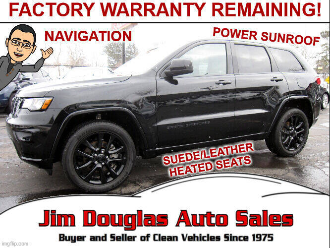 2018 Jeep Grand Cherokee for sale at Jim Douglas Auto Sales in Pontiac MI