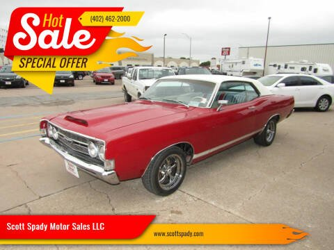 1968 Ford FAIRLANE 500 GT for sale at Scott Spady Motor Sales LLC in Hastings NE