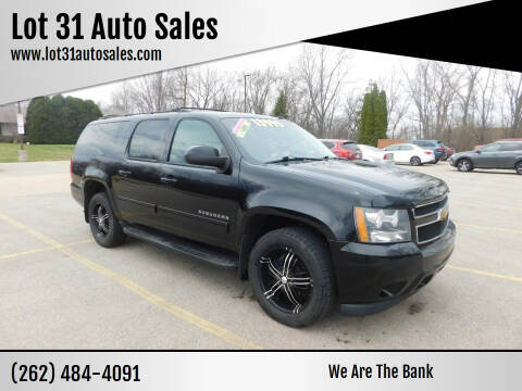 2011 Chevrolet Suburban for sale at Lot 31 Auto Sales in Kenosha WI
