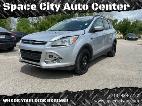 2016 Ford Escape for sale at Space City Auto Center in Houston TX