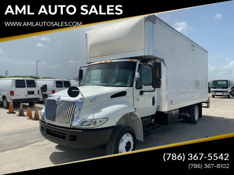 2007 International 4200 for sale at AML AUTO SALES - Box trucks in Opa-Locka FL